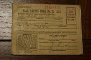 Wwii War Ration Book No. 3 With 193 Stamps World War 2 Vintage