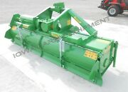 Rotary Tiller 10and039-2 Valentini U3000tractor 3ptpto Qh Compat Hd 170hp Gbox