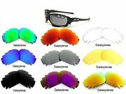 Galaxy Replacement Lenses For Racing Jacket/jawbone Vented Multi-color