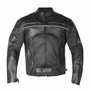 New Menand039s Razer Motorcycle Biker Ce Armor Mesh Leather Green Riding Jacket