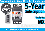 Mylaps X2 Mx Motocross Rechargeable Transponder W/ 5-year Subscription -amb