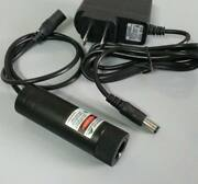 Focusable 1000mw 1w Green 520nm Laser Module With Power Adapter/ Free Line Lens