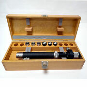 Carl Zeiss Precision Dipping Refractometer In Original Wooden Case. Mint Cond.