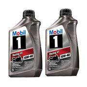 Mobil 1 Racing 4t 10w40 Full Synthetic 4 Cycle Motorcycle Oil - 122286
