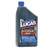 Lucas Oil Semi-synthetic 2-cycle Motorcycle Oil Up To 501 Premix - 10110