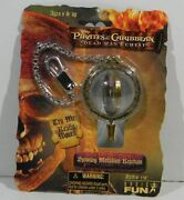 Disney Pirates Of The Caribbean Dead Manand039s Chest Spinning Medallion Keychain
