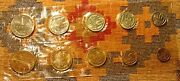 Russia 1968 Mint Coin Set Ussr Soviet Unc Russian Token And Nine Coins  -l@@k-