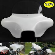 Detachable Fairing 6x9 Style For Harley Road King 94 Up White Free Shipping