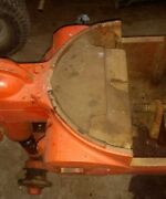 Case Sc Tractor Front Bolster Weight Part Case Front Weight Ji Case
