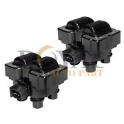Pack Of 2 Ignition Coils For Ford Mazda Mercury 1988-2003 Fd487 Dg530