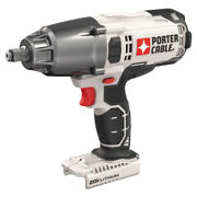 Porter-cable 20v Max 1,700 Rpm 1/2 In. Impact Wrench Tool Onlypcc740b New