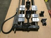 Long Linear Stage Positioner-pillow Blocks-ball Nuts-incremental Encoder Detail