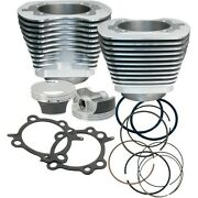 106in. Big Bore Kit Sands Cycle Silver Powder-coat 910-0202