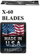 60 Usa Made Blades 60 Deck Gravely 20-1/2 X 5/8 03253900, 046999, 08979600