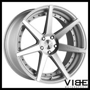 20 Vertini Dynasty Silver Concave Staggered Wheels Rims Fits Tesla Model S