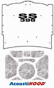 1965 1966 Chevrolet Under Hood Cover With G-ss396 Ss-396