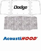 1961 1971 Dodge Truck Under Hood Cover With M-075 Dodge