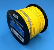 Deka 16 Awg Yellow Marine Tinned Copper Boat Stranded Wire 100 Feet Made In Usa