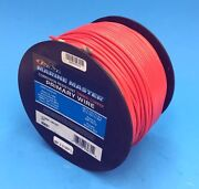 Deka 14 Awg Red Marine Tinned Copper Boat Stranded Wire 100 Feet Made In Usa