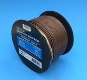Deka 16 Awg Brown Marine Tinned Copper Boat Stranded Wire 100 Feet Made In Usa