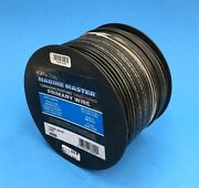 Deka 14 Awg Black Marine Tinned Copper Boat Stranded Wire 100 Feet Made In Usa
