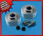 Sil Billet 2and039and039 Front Lift Set For 1983-1996 Ford Ranger 4x4 5/8and039and039 Stud Extenders