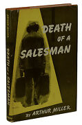 Death Of A Salesman Arthur Miller First Edition 1949 1st Issue Orig Jacket