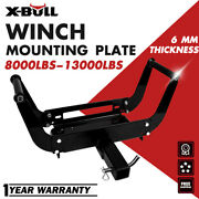 X-bull Winch Cradle Mounting Bracket Mount Plate For Truck 4wd Trailer Atv
