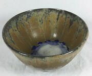 Vintage Handmade Studio Potter Art Stoneware Glazed Coupe Cereal Bowl Caudill