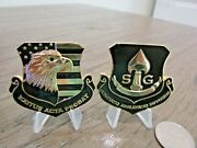 Cia Central Intelligence Agency Strategic Interdiction Group Sig Challenge Coin