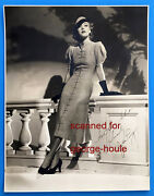 Joan Perry - Photograph - Signed - 1936 - Glamour - Orson Welles