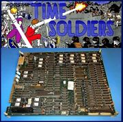 Arcadecoin Operated Amusement Snk Romstar Time Soldiers Pcb Working Jamma