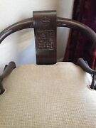 2 Ming Chairs - James Mont Style Horseshoe Pair Vintage