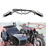 Motorcycle Original Handlebar With Grip Lever Cable For Bmw R1 R71 M72 Ural M72