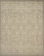 8and039x11and039 Loloi Rug Java Wool Silver Hand-knotted Transitional Jq-05