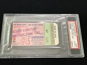 1961 World Series Game 5 Ticket New York Ny Yankees Clinch 19th Ws Title Psa
