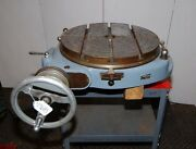 Walters Rotary Table 19-1/2 Inch Dia. Made In Germany Inv.19683