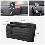 Car Accessories Organizer Air Outlet Storage Box Holder With Phone Charging Hole
