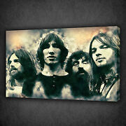 Pink Floyd Grunge Music Band Modern Wall Art Canvas Print Picture Ready To Hang