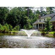 Kasco 2400vfx200 Floating Pond Fountain-1/2 Hp Aerator W/ 200 Ft Cord And Rope