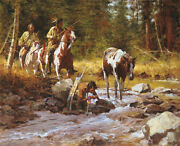 Howard Terpning The Nectar Of The Gods Canvas Sold Out Andndash Limited Edition
