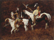 Howard Terpning Paints Sold Out Limited Edition