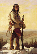 Howard Terpning The Long Trail Ahead Sold Out – Limited Edition