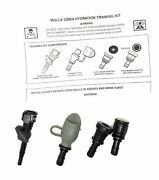 5 Qty Camelbak Hydrolink Bite Valve Quick Release Type A And M Mask Adapter