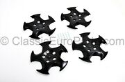 Throwing Star Cover For Bmw E31 E34 M5 M System Style 21 Wheel Cap Set Of 4 Pcs