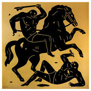 Cleon Peterson, Into The Night, 2014 Sold Out Signed/numbered