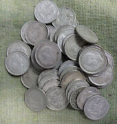 C29. Fifty50  1948 Australian Silver Sixpence Coins