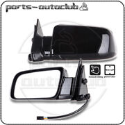 Pair Left And Right Power Side View Exterior Mirrors For Cadillac Chevrolet Gmc