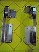 Heavy Duty Stainless Steel 5 Position Locking Hinges Hatch Door Boat Rv