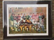 Super Bowl Xx Limited Edition Mvp 'nfl Proof' Autographed By Jim Plunkett